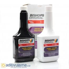Souprava aditiv k ošetření naftového motoru Bishops Original 400-D KIT 2 x 354 ml