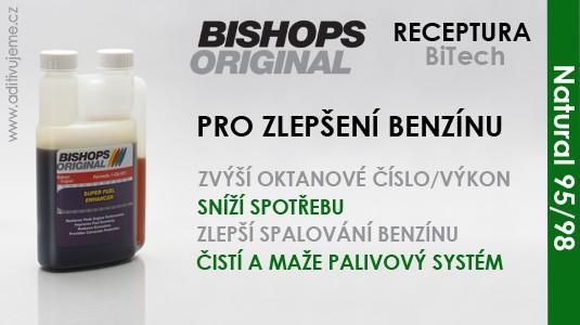 Bishops Original aditivum do benzínu - BiTech
