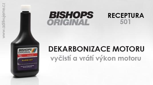 DEKARBONIZACE MOTORU - aditivum Bishops Original 501